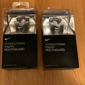 NIB Nike Hyperstrong Youth Mouthguards (2)